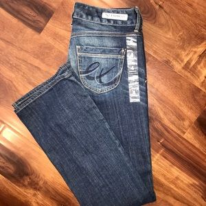 New - Express Stella bootcut women's denim jeans 4